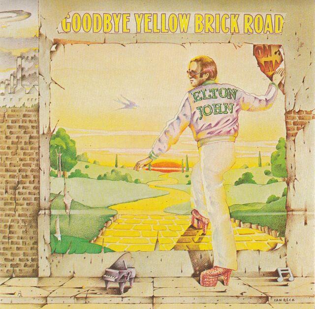 ELTON JOHN : GOODBYE YELLOW BRICK ROAD / 2 CD-SET - TOP-ZUSTAND