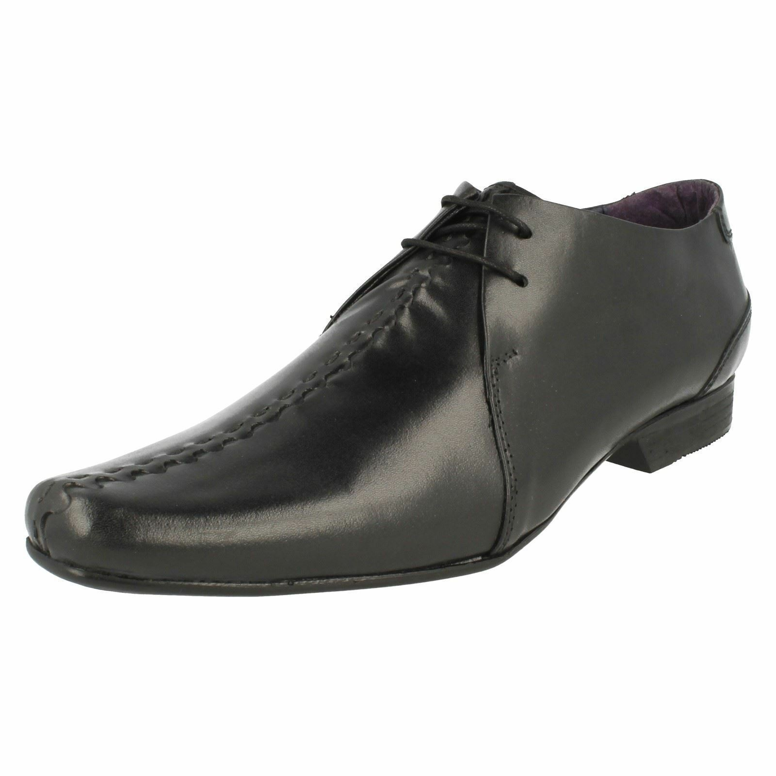 new style a7a8a 0f508 lsip Rouge 01b 01b 01b hombres negro con encaje, zapato informels (r26b) (