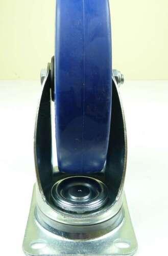 4 St 200 mm SL rôles BLUE WHEELS Roues fixes pour charges lourdes rôles transport rôles