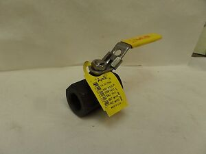 "NEW APOLLO 73A-143-2764A 1/2"" NPT CARBON STEEL BALL VALVE 2000 CWP A105"