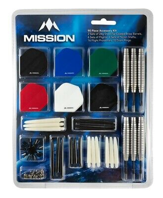 22 Grams New 2021 Mission Solace M1 Dark Green Electro Brass Steel Tip Darts