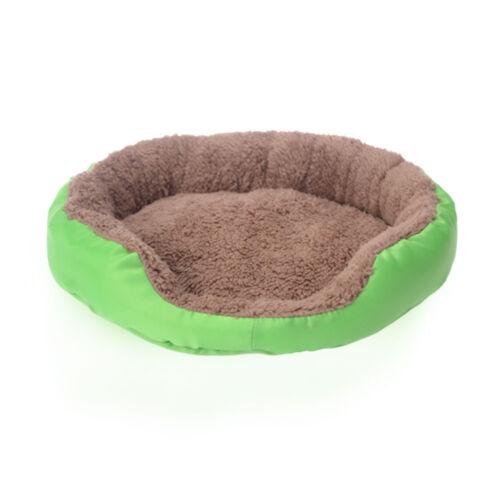 Warm Fleece Kennel Pet Dog Cat Bed Cushion House Pet Puppy Basket Nest Doghouse