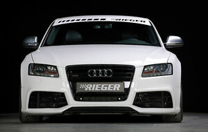 rieger spoiler sto stange sch rze audi a5 in rs5 look. Black Bedroom Furniture Sets. Home Design Ideas