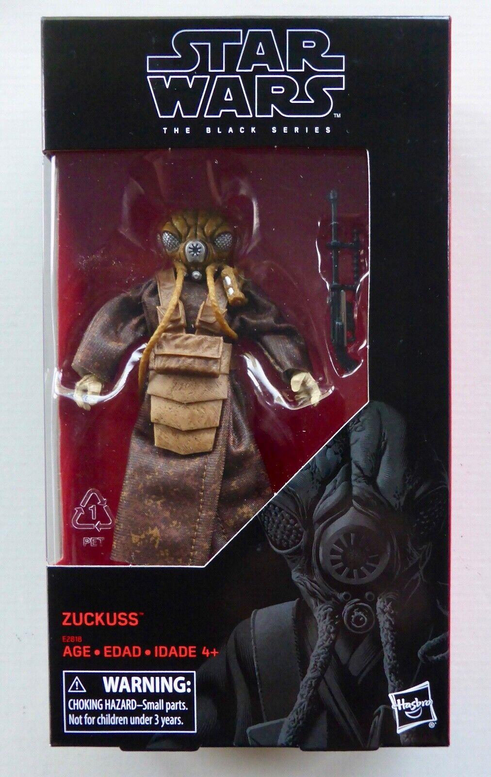 STAR WARS BLACK Series ZUCKUSS 6in Action Figure Hasbro IN STOCK E2818