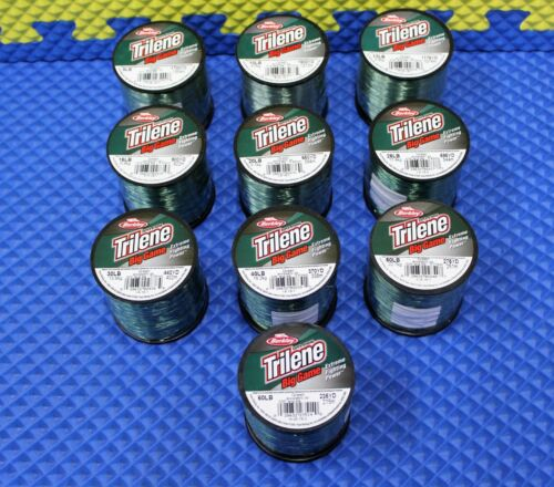BGQS CHOOSE YOUR LINE WEIGHT Berkley Trilene Big Game Green 1//4 LB Spools Mono