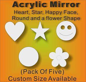 fabriqué au royaume-uni, Acrylique miroir cercles