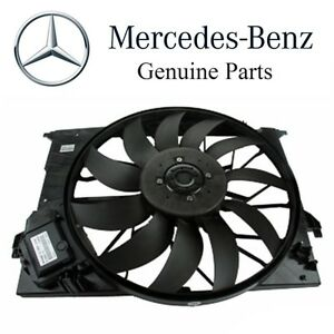 For Mercedes C230 /& E320 New Cooling Fan Assembly