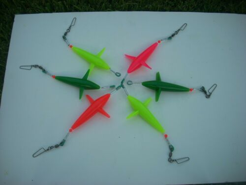 """5/"""" hard plastic /""""Exiciter/"""" style RIGGED Trolling Bird"""
