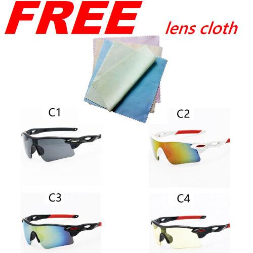 Cycling Glasses Sunglasses Eyewear Goggles Polarized Bike Outdoor Uv400 Sport