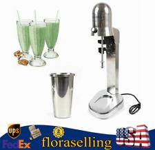 Commercial Milk Shake Machine Electric Milkshake Mixer Drink Mix Blender 280w