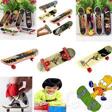 4Pcs  Mini Tech Deck Finger Board Skateboards Kids' Fascinating Toys New  Style