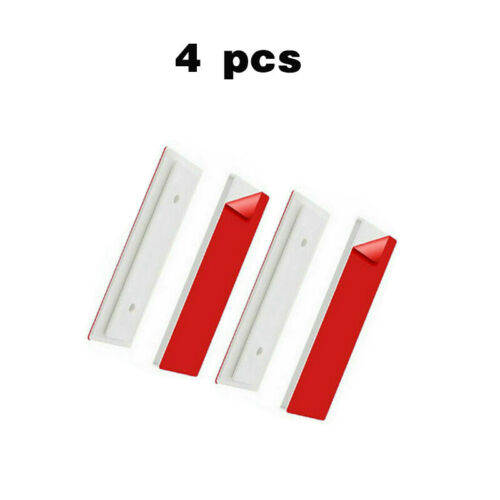 2//4Stk Selbstklebende Steckdosenleiste Halterung Fixator Kabelhalterunge
