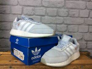 94a99a33daa ADIDAS LADIES UK 4 EU 36 2 3 PALE BLUE ORIGINALS I-5923 BOOST ...