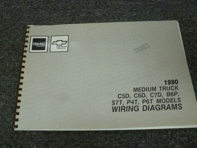 1990 Chevy C50 C60 C70 Medium Duty Truck Electrical Wiring