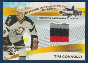 TIM-CONNOLLY-2001-02-BOWMAN-YOUNG-STARS-FABRIC-OF-THE-FUTURE-JERSEY-FFJ-TC-22238