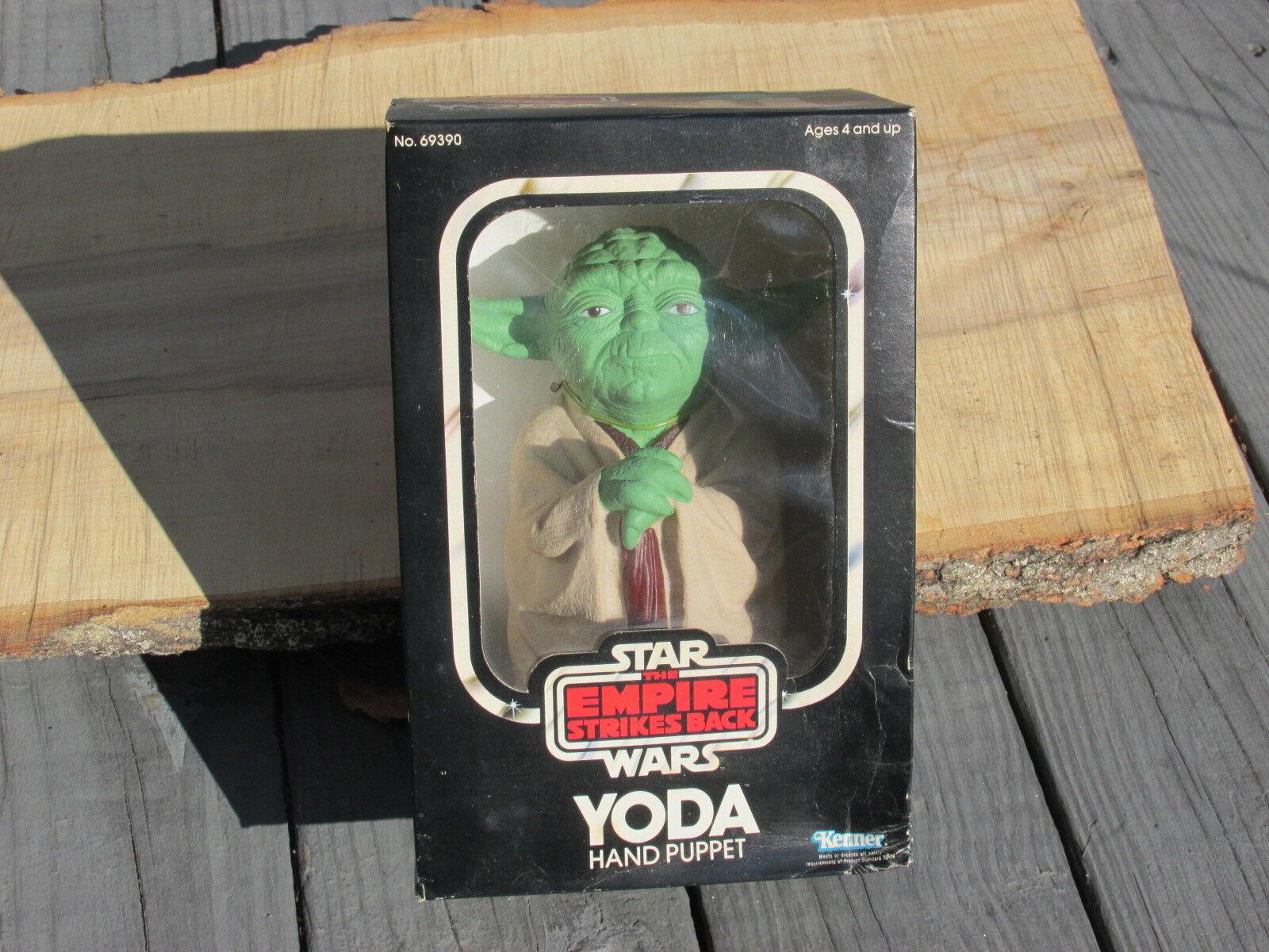 1980 vintage star nella wars yoda burattino, ancora nella star scatola sigillata misb mai aperto afa 6b8d93