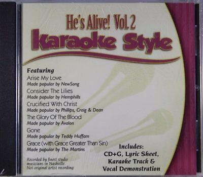 Karaoke Cdgs, Dvds & Media Faithful He's Alive Volume 2 Christian Karaoke Style New Cd+g Daywind 6 Songs Convenience Goods