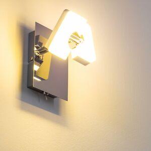 applique murale led spot design moderne clairage de couloir lampe murale 115018 ebay. Black Bedroom Furniture Sets. Home Design Ideas
