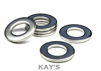 A2 STAINLESS STEEL FORM A FLAT WASHERS TO FIT METRIC BOLTS & SCREWS M1.6 TO M30