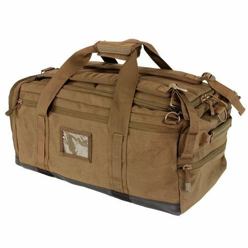 Condor 111094 Centurion Duffel Bag - Coyote Brown