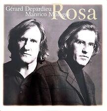 Gérard Depardieu / Manrico Mologni CD Single Rosa - France (EX+/M)