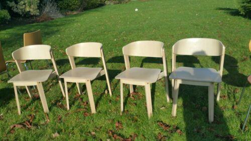 Modern Furniture Italian designer  Light Oak Dining Chair