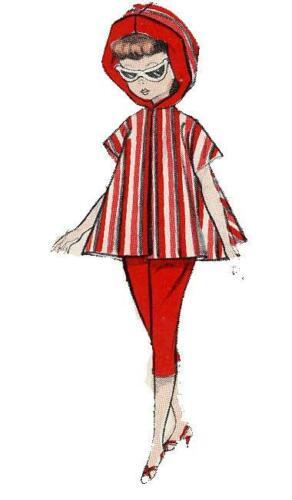 Doll Clothes Pattern 8353 Little Miss Revlon Toni Crown Princess Sally Star Jill