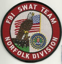 FBI: NORFOLK - VIRGINIA - SWAT Team S.W.A.T. Police Patch SEK Polizei Aufnäher