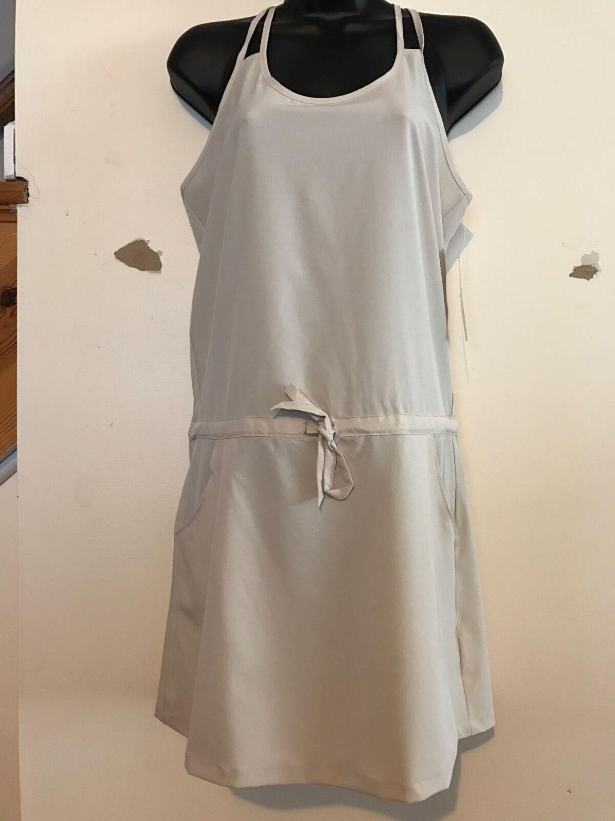 Apana Yoga Wear Women's Dress Moisture-wicking Sandshell Freeshipping NWT