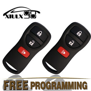 2-New-Replacement-Keyless-Entry-Remote-Key-Fob-for-Nissan-Frontier-Titan-Xterra