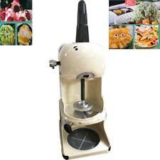 1 Pc 10 Commercial Snow Ice Shaver Ice Cream Shaving Maker Machine Crusher110v