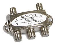 Geosatpro 4x1 Diseqc Fta Satellite Switch Diseqc 2.0 Model Gdsw41, 4x1 Switch