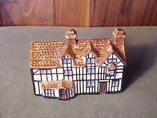 VINTAGE JOHN PUTNAM'S HERITAGE HOUSES ENGLISH PORCELAIN - STRATFORD ON AVON
