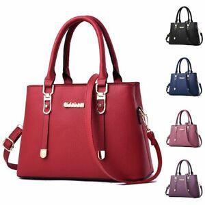 Women-Handbag-Leather-Lady-Shoulder-Bag-Messenger-Satchel-Cross-Body-Tote-Purse