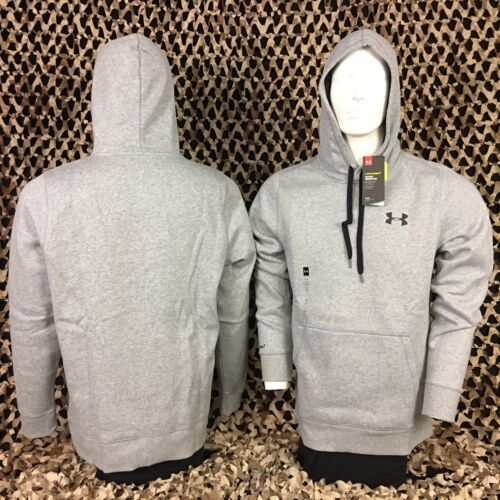 025 NEW Under Armour Storm Rival Hooded Sweatshirt Grey
