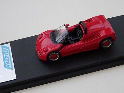 Obbiettivo Alezan Models . 1/43 . Michelotti Alfa Romeo Pura . 1988 . Paghi Uno Prendi Due
