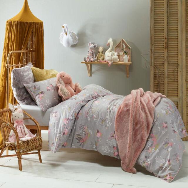 Jiggle & Giggle Woodlands Single Bed Size Duvet Doona Quilt Cover Set