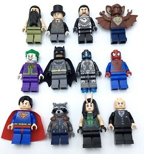 LEGO-NEW-SUPER-HERO-MINIFIGURES-MARVEL-DC-COMICS-GENUINE-COLLECTIBLES-YOU-PICK