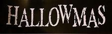 Hallowmas - Bumper logo Sticker LOT (3) RARE HORROR PUNK