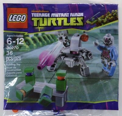 Lego 30270 Teenage Mutant Ninja Turtles Kraang Turtle Target Practice FREE SHIP