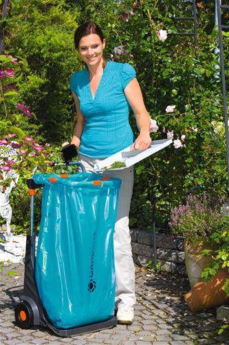 GARDENA Gartenmobil Gartenabfallbehälter Abfallbehälter Metall 232
