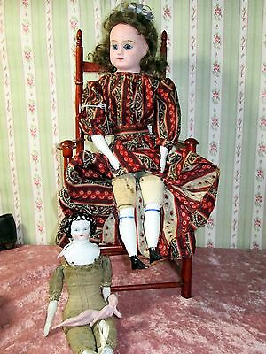 17'' 10'' 3 1/2'' GROUP OF FIXER UPPERS PAPIER MACHE DOLL CHINA HEAD BATHING BEA
