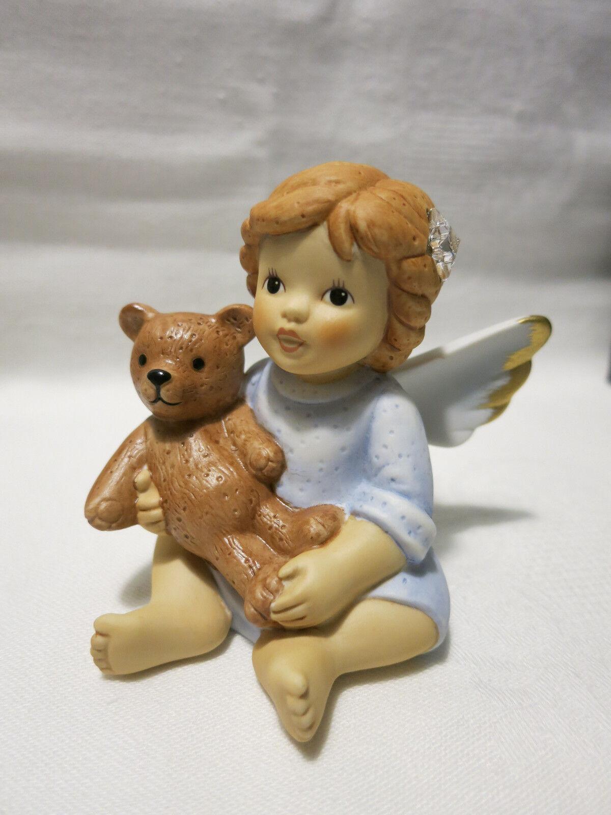 Goebel Schutzengel Edition 2013  Ich beschütze Dich Engel m Swarovski® Kristall