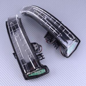 Paar-Aussenspiegel-Blinkleuchte-Indikator-fuer-Mercedes-Benz-E200-W204-W212-W221