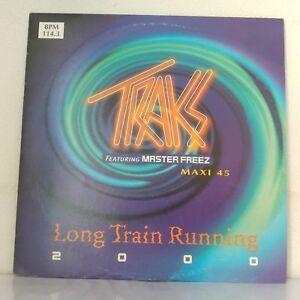 Traks-Featuring-Master-Freez-Long-Train-Runnin-039-2000-Vinyl-12-034-Maxi-33-T