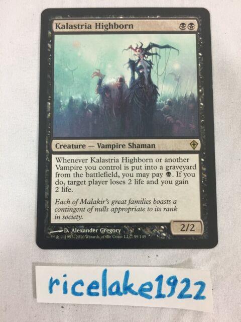 MTG Magic The Gathering Kalastria Highborn Worldwake HP