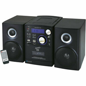 Supersonic  Portable Bluetooth MP3/CD Cassette Player Micro Stereo System