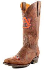 Mens Gameday Boots Western Cowboy Auburn Tigers 11 D Brass AUB-M001-1