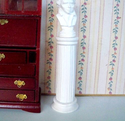 antique miniature pilier Maison de poupée 1:12 01