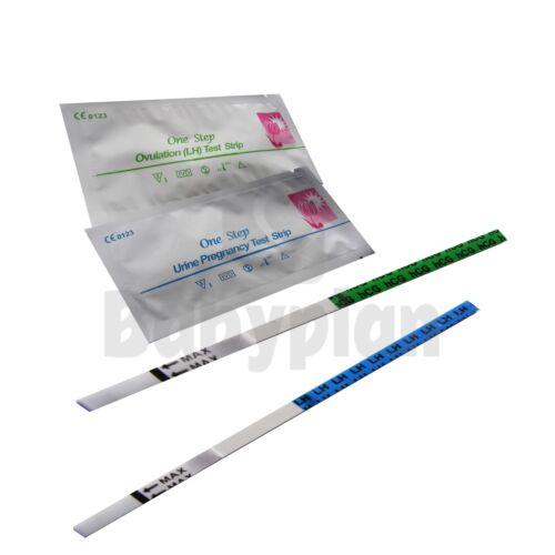 25x Ovulationstest und 5x Schwangerschaftstest LH 25mIU//ml hCG 10mIU//ml Urintest